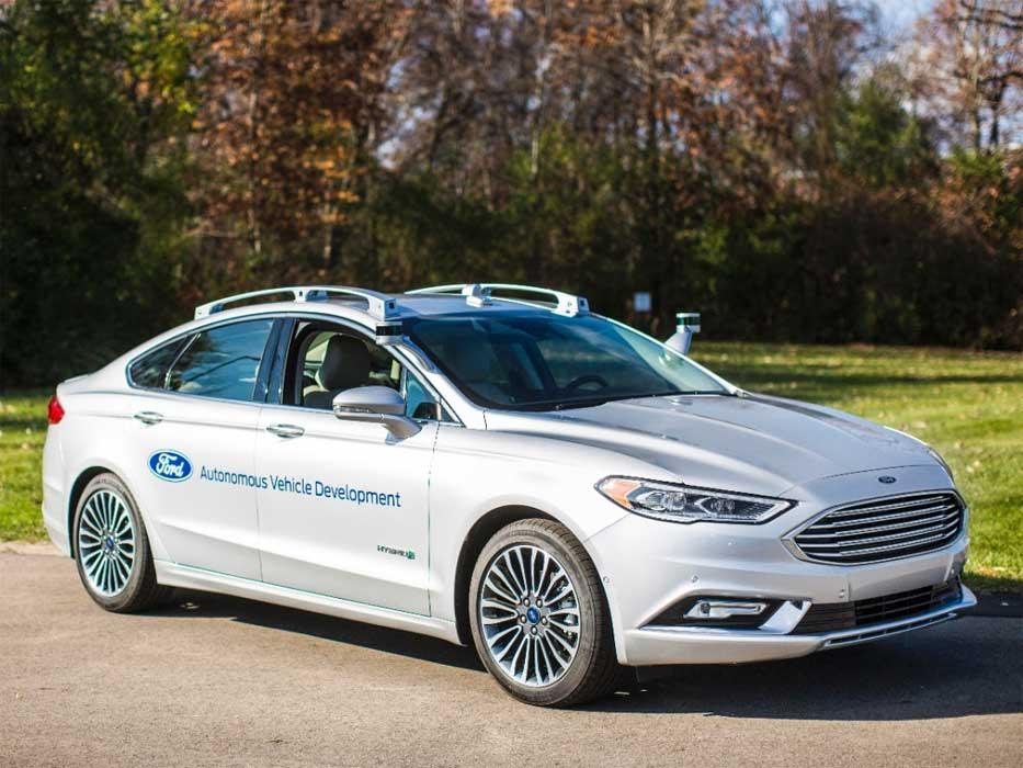 Ford Fusion guida autonoma