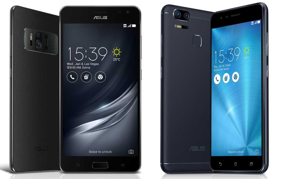 Asus Zenone AR e ZenFone 3 Zoom